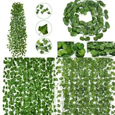 12 Pack Artificial Greenery Ivy Vine Leaves Garland Wedding Party Garden Decor