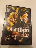 Dvd cotton club con richar gere y nicolas cage  un film de coppola
