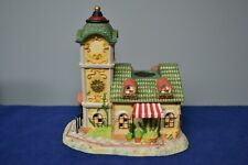Partylite Exclusive Olde World Village Collection Clock Tower