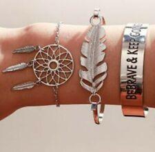 Dream catcher bracelet set