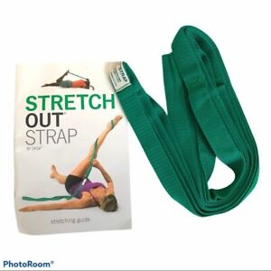 NEW OPTP Stretch Out Stretching Strap w/ Manual Guide