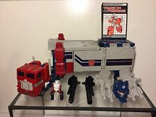 Transformers G1 Powermaster Optimus Prime 1987❗RAR❗