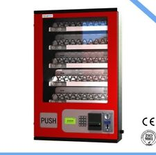 Ce Certified 5 Slot Cigarette Wall Vending Machine W/ Bill Acceptor Brand New