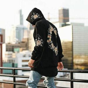Hot Chic Men Hoodie Sweatshirt Hooded Top Jacket Coat Outwear Pullover Oversize