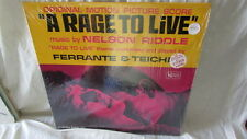 A RAGE TO LIVE SOUNDTRACK LP NELSON RIDDLE FERRANT & TEICHER UNITED ARTISTS