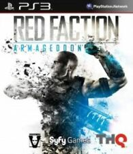 PlayStation 3 Ps3 Red Faction Armageddon Video Game
