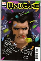 WOLVERINE #1 RAHZZAH PARTY SKETCH COVER 1 PER STORE VARIANT MARVEL 2020
