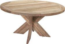 Consul Garden Gartentisch Holztisch Massivholztisch TOLEDO Old Teak 150 cm rund