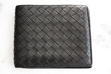 Bottega Veneta wallet leather ID Intrecciato Black 100% AUTHENTIC! a486ea62264d6