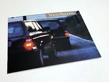 1993 Volvo 240 940 960 Series Wagons Brochure