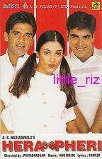 HERA PHERI - 2000 Rare Bollywood Indian Cassette (not CD) Akshay Kumar Tabu