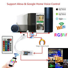 New IR&WiFi LED RGB Smart Controller For Alexa & Google Home Voice Control