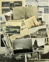 Photo postcards World Cities Lot 36 pcs Vintage postcard Black & white photos