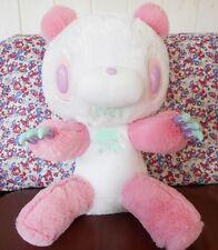 New GLOOMY BEAR Plush Sharbety 15.7inch Panda Pink 40cm Doll RARE Japan