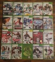 Lot of 20 Xbox 360 Sport Games Soccer Baseball Basketball Golf Football