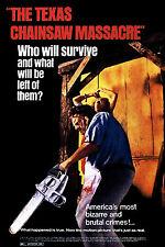 Incorniciato Retrò MOVIE POSTER-il Texas MOTOSEGA massacro 1974 (REPLICA STAMPA ART)