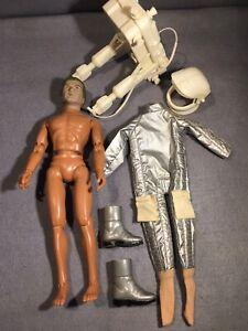 "Vintage Mego 1977 James Bond Moonraker 12"" figure And Accessories"