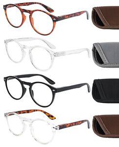 Anti Blue Light Blocking Reading Glasses With Case Computer Screen Men Women