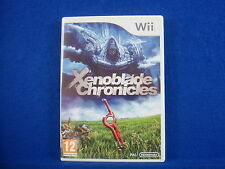 wii XENOBLADE CHRONICLES An Epic Role Playing Game Nintendo PAL UK Version RPG