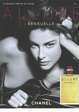 PUBLICITE ADVERTISING  2006  CHANEL parfum allure sensuelle