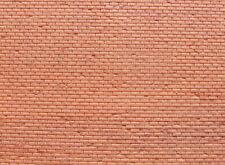 Muretto mattoni rossi per modellismo scala1/160 N cm.22X12 - Krea 3001