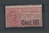 1922 ITALY REGNO ESPRESSO 60 CENTESIMI SU 50 INTEGRO A/5393