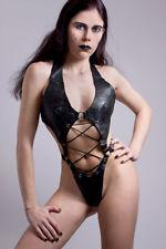 Rindleder Body mit O-Ring.  Leather Body