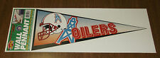 1996 Sticker Decal - Houston Oilers Wall Pennant - Nfl Football