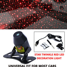 Star Twinkle Red LED Decoration Light Room In-Car RV Rooftop Ceiling Projector