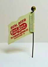 Early 1900's Erin Brew Real Beer Flag stick pin