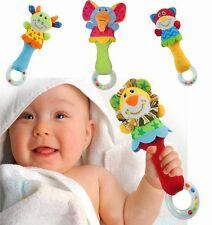 Baby Boy Toys Rattle Cute Bed Animal Handbells Musical Developmental Toy