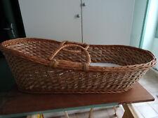 BERCEAU avec matelas (pour décoration)