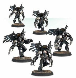 Raven Guard Dark Fury Assault Squad painted figure Horus Heresy Pre-Sale | Art