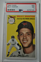 1954 Topps - Billy Hunter - #48 - PSA 7 - NM