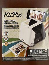 Tomy KiiPix Smartphone Picture Printer Instant Portable Black New