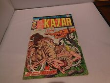 KA-ZAR #9 COMIC BOOK (1974) LORD OF THE JUNGLE MARVEL COMICS