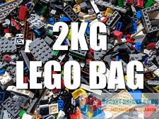 LEGO 2Kg Mixed Bricks, Parts, Pieces, Spares - clean and genuine - Bulk Job Lot