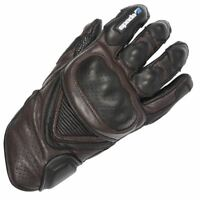 Spada Sled Dog Men's Leather Motorcycle Motorbike Gloves