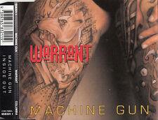 MACHINE GUN Warrant CD Single - Promo