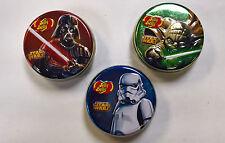 Star Wars Jelly Beans Tin Jelly Belly 1 Oz 3 Tin Set (Ex 10/02/2017)