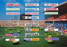 Replica Stadium Stickers for Subbuteo terraces and Grandstands