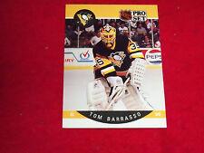 tom barrasso (pittsburgh penguins-goalie) 1990/91 pro set card #227 mint