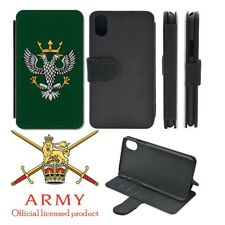Mercian Regiment iPhone Flip Case Cover
