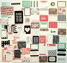 """New! PROJECT LIFE  """"Jen Hadfield""""  [COTTAGE LIVING]  Core Kit Cards  (60 cards)"""