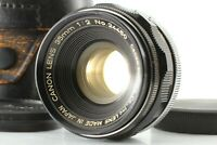 【Exc++++】 Canon 35mm f/2 Wide Angle MF Lens L39 LTM Leica Screw FROM JAPAN