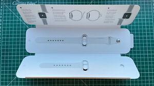 Genuine Apple Watch White Sport Band 42mm 44mm.