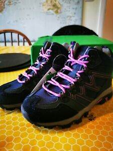 Dark Purple Mountain Warehouse Walking Boots SIZE 12 (junior)