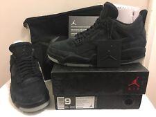 DS Air Jordan 4 Retro KAWS black clear glow sz 9