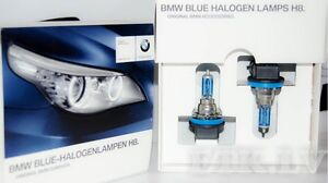 Genuine BMW E60 LCI E70 E71 F01 F07 Halogen bulb Blue Lamps H8 4000K 63112359505
