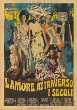 THE OLDEST PROFESSION orig rare 1967 movie poster RAQUEL WELCH/ELSA MARTINELLI